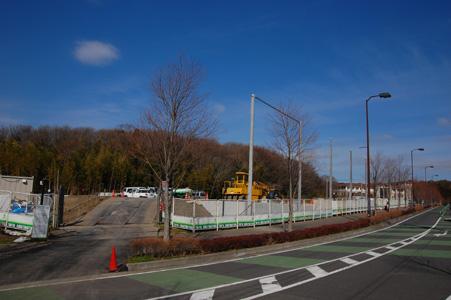 建設中の工事現場