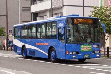 三菱ふそう・エアロスター(神奈中綾瀬営業所・ワンロマ車)