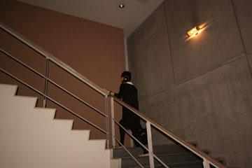 SFCの階段本館の階段