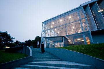 SFCの階段タウ館前の階段
