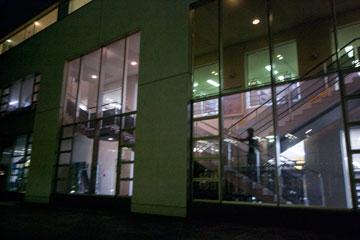 SFCの階段メディアセンターの階段