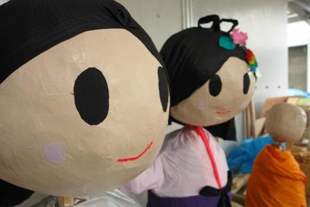 織姫と彦星人形