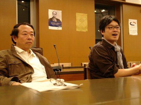 熱く話す田中先生