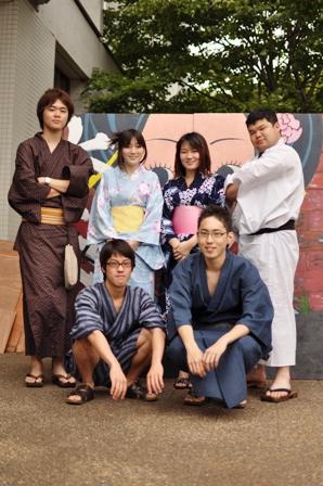 七夕祭実行委員会のメンバー