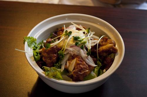 チキン南蛮ボウル(ライス→豆腐サラダ)