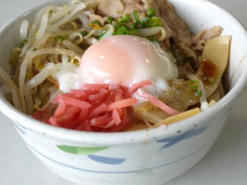 ラーメン風丼