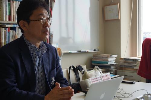 ORF実行委員長の飯盛義徳総合政策学部准教授