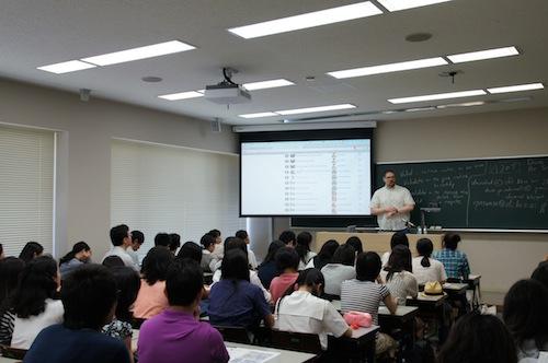 英語模擬授業