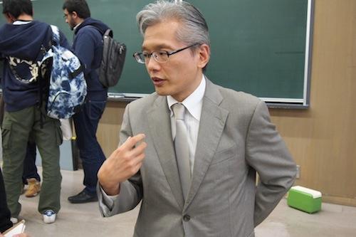 奥田敦総合政策学部教授
