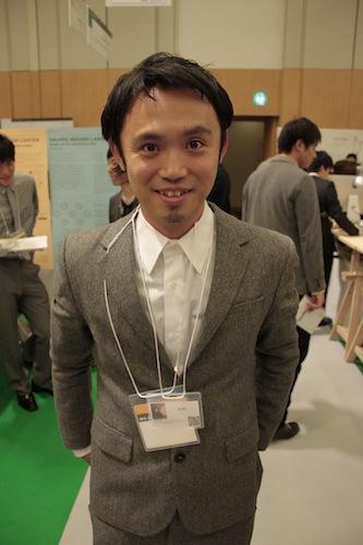 【ネームプレート】筧康明環境情報学部准教授