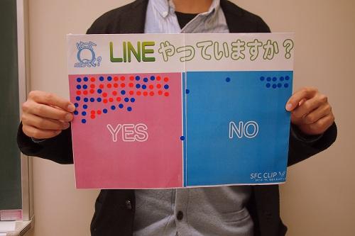 あなたはだれと、どうつながってる? LINEやってますか?