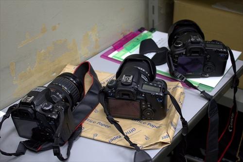 【カメラ講習会】三台