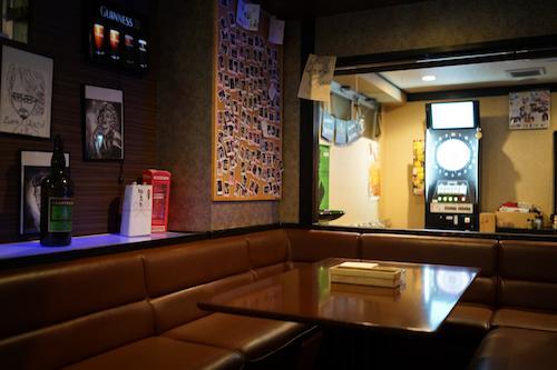 [bar]店内