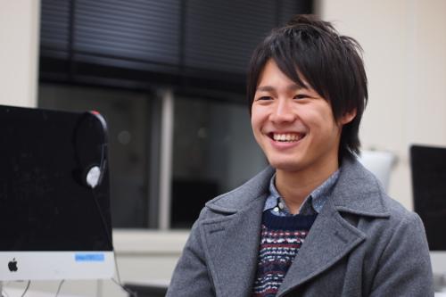 技術力を磨いた4年間を振り返る、深谷哲史さん(環4)