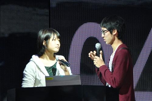 小林颯さんと沖野のぞみさん