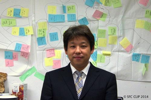 WS担当 井庭准教授