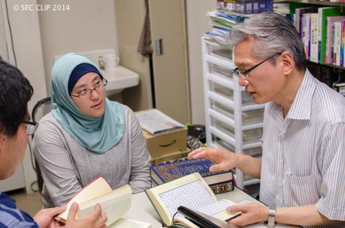 「教育者として、ムスリムとして、大人として」アラビヤ語研究室 奥田敦教授・植村さおり講師インタビュー【第3部】