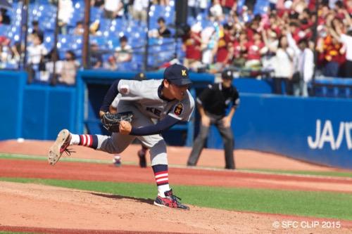早慶戦2日目 義塾野球部 チャンス活かせず3位に終わる