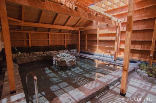 [「らくの湯」オープン初日はバラ湯を楽しめたという。](https://sfcclip.net/news2015050801/)