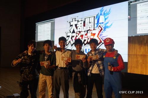 優勝した「引きスマブラザーズ」はなんと高校生チームだ。