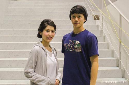 [ミス・ミスターSFCコンテストも開催され、荒木毬菜さん(環4)と加藤陸さん(環1)がそれぞれ優勝を果たした。](https://sfcclip.net/news2015101601/)