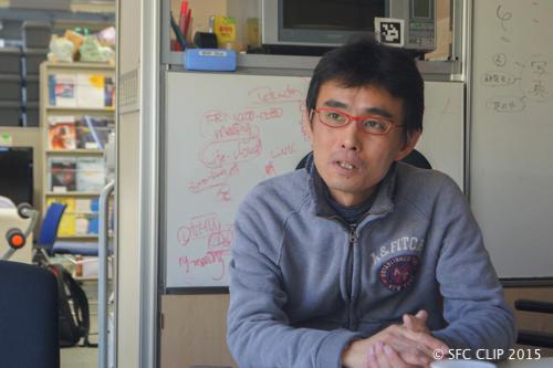 ORF実行委員長を務める中澤仁准教授