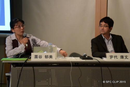 SFCの外国語教育の魅力を語る藁谷教授