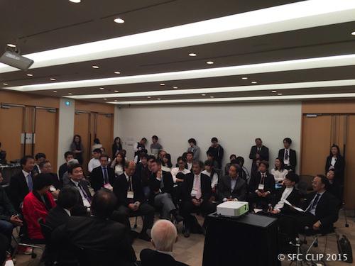 多くの参加者が集まったセッション