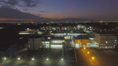[前日のテスト飛行で撮影されたSFCの空撮映像(同提供)](https://sfcclip.net/news2015121801/)