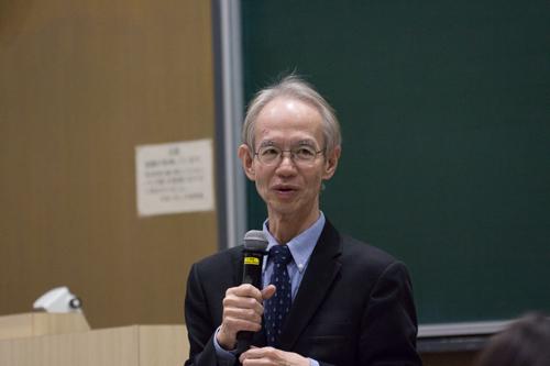 3月に退任する阿川教授