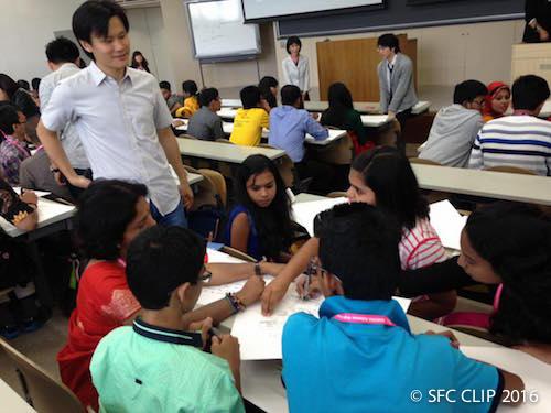 各国トップレベルの理系高校生60人が来訪 SFCを体感