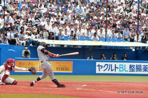2打点の活躍! 須藤選手