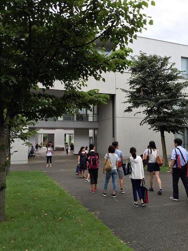 オープンキャンパス終盤の模様(平野哲さん(環1)提供)