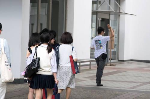 キャンパスツアーOコースの模様(京本克樹さん(環4)提供)