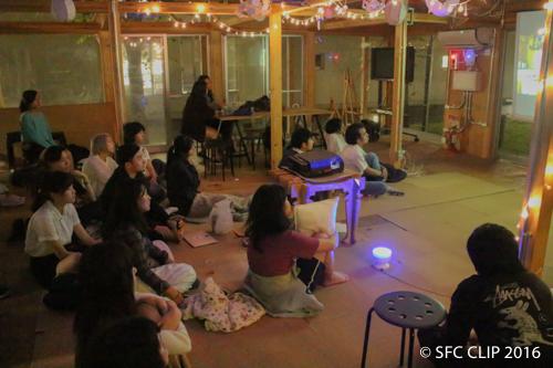 SBCセンターで諭吉前映画祭開催! 僻地でクールにフライデームービーナイト
