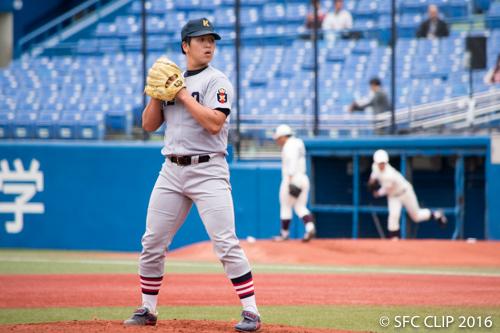 早慶戦1日目 投打が噛み合い、義塾が先勝 リーグ2位にリーチ