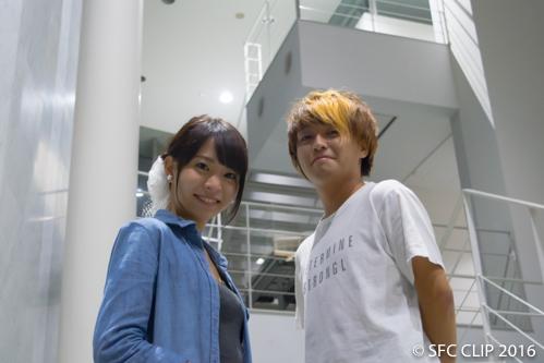 ミスSFCに橘川愛美さん ミスターSFCに菅藤佑太さん SFC CLIPが独占インタビュー