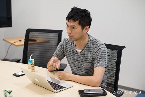 学生起業家・石川聡彦さん。自身も現役の大学生だ。