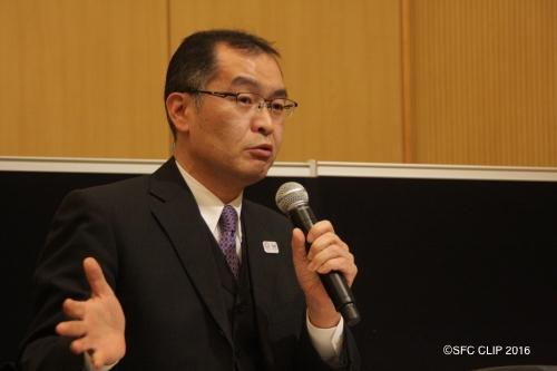 教員の課題について説明する大林誠高校教育改革担当課長