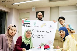 「Okuda Lab welcomes SFC community at Ramadan Night 2017」の画像