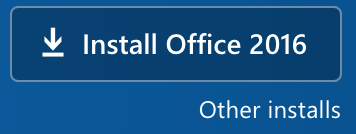 Button to download Office to your computer
