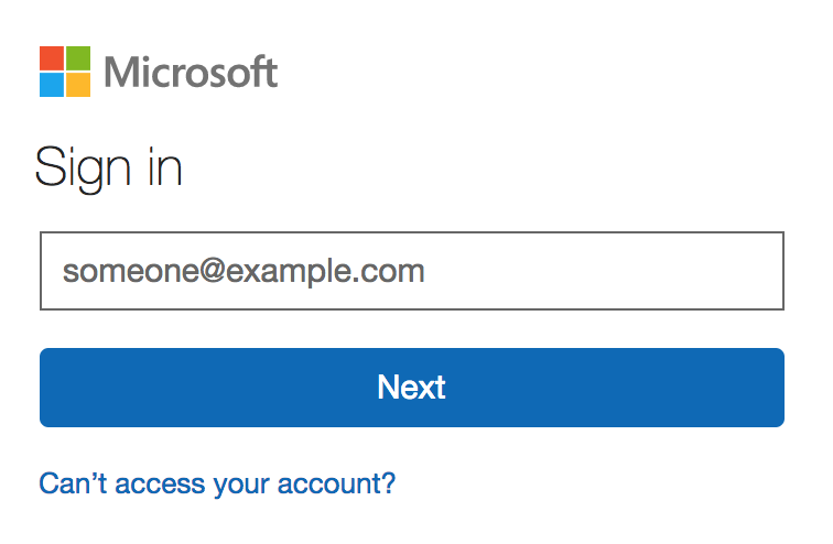 Another Office 365 sign-in page you might see