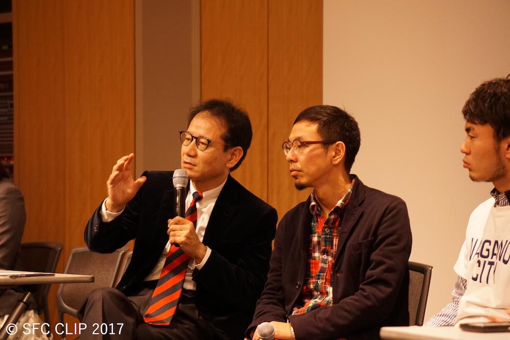 セッションを締めくくる鈴木教授