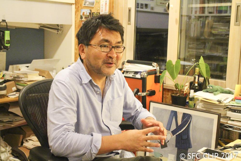 ORF実行委員長を務める 加藤文俊教授