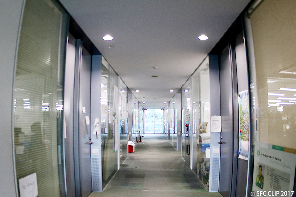 Do you notice how the pillars and glass walls of Delta building bend?