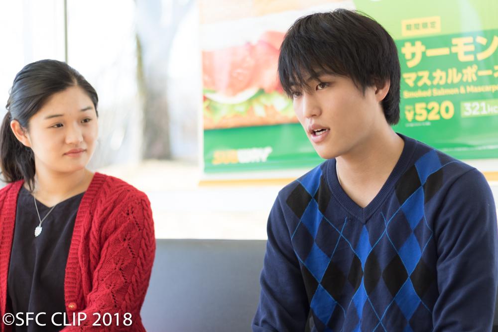 今回インタビューに答えてくれたひまりさん(左)と武田さん(右)