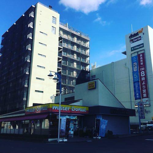 新しい寮は湘南台駅のすぐ近くだ(UDS提供)