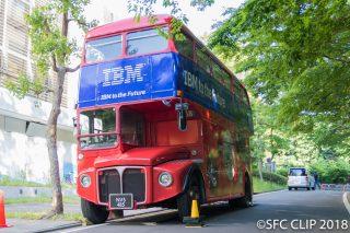 「IBMからやってきたロンドンバス! 矢上キャンパスではWatson説明会も」の画像