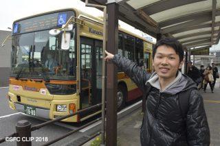 「混雑は「ありがたい存在」 司隆さん(18年環卒)が雨の日も風の日もバス列を数えたわけ」の画像