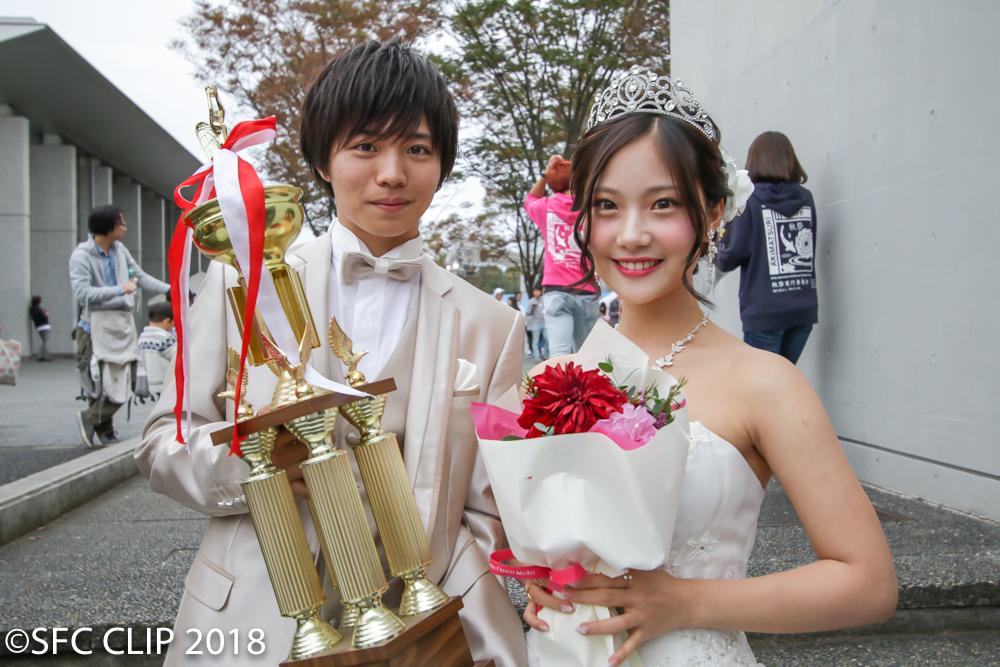 グランプリ受賞の安部さんと野村さん